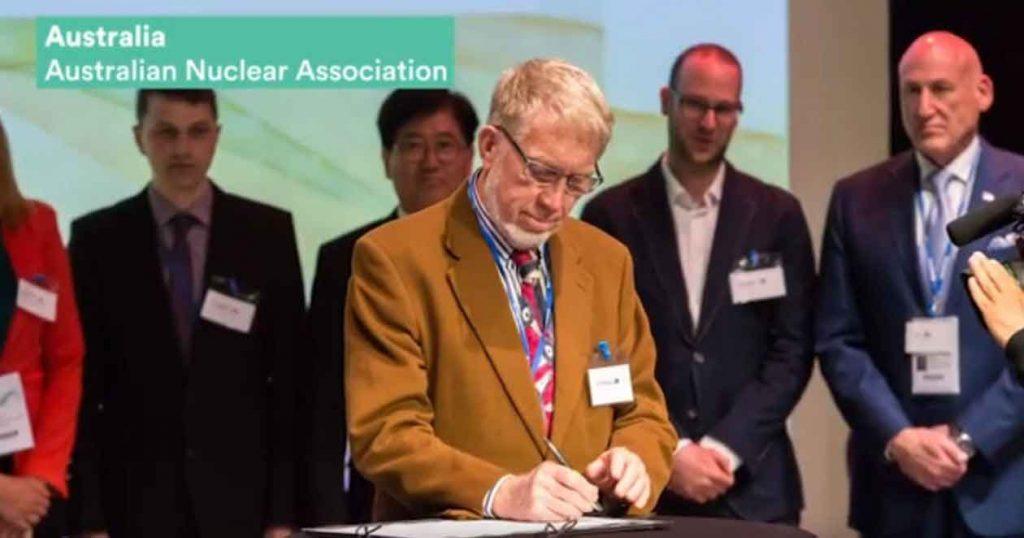 Robert Parker signing Declaration